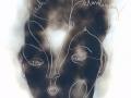10.Lebensluft, 2016, Ruß Papier 30x30 Kopie